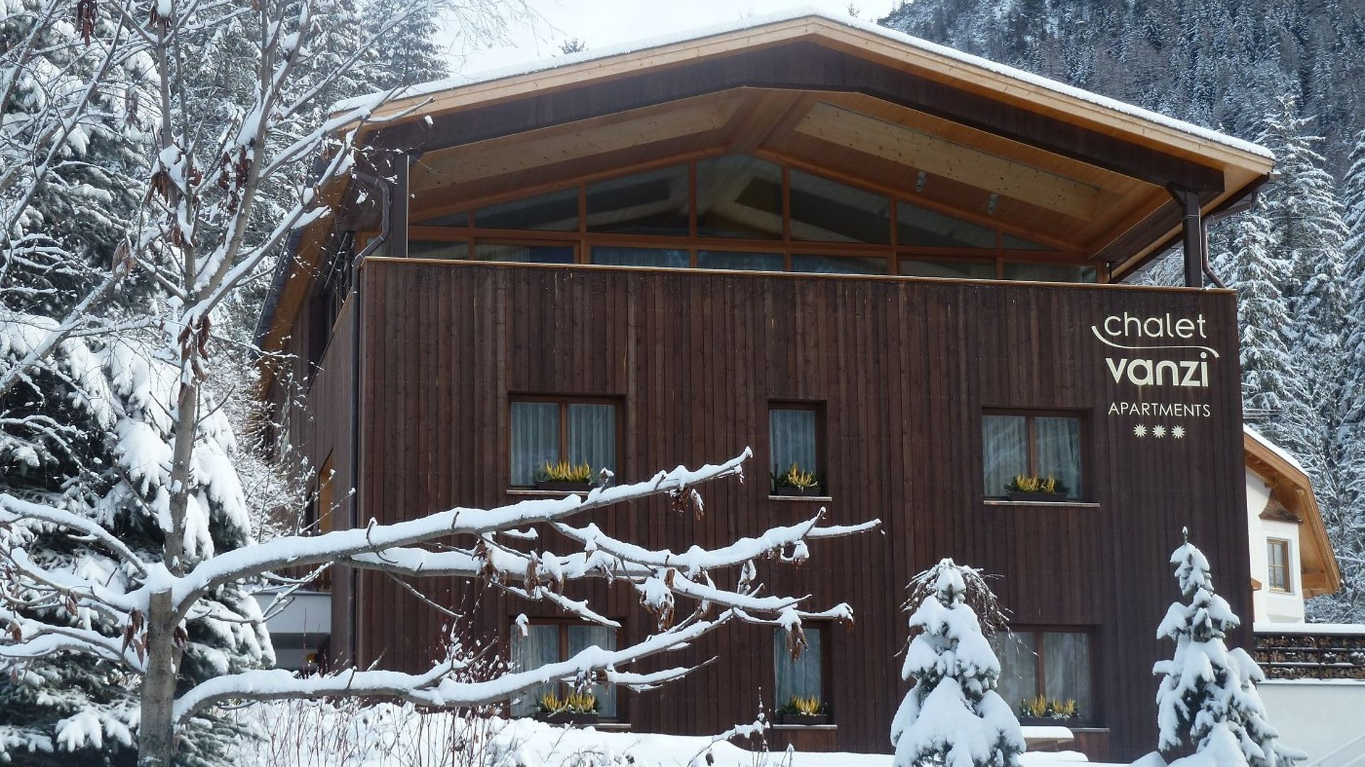 Bild: : Vanzi Chalet Apartments in Pikolein, St. Martin in Thurn
